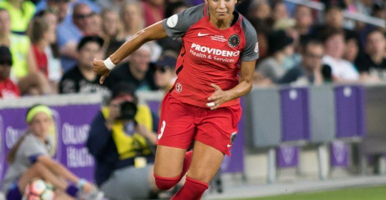 Portland Thorns FC forward Nadia Nadim (9)