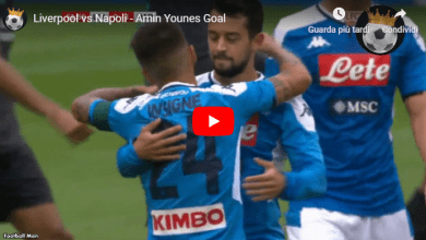 Photo of Il video del gol di Younes in Napoli-Liverpool