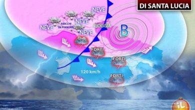 Photo of Maltempo, Pioggia e Neve in tutta Italia: le Previsioni meteo
