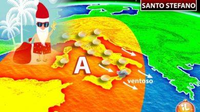 Photo of Meteo, cosa ci aspetta a Natale e Santo Stefano? ecco gli ultimi aggiornamenti