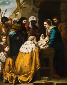 epifania Bartolomé_Esteban_Murillo_-_Adoration_of_the_Magi_-_Google_Art_Project