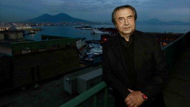 Photo of Riccardo Muti al San Carlo di Napoli con la Chicago Symphony Orchestra