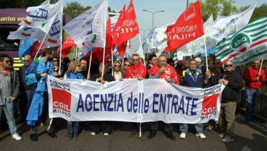 agenzia delle entrate sciopero
