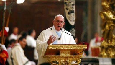 """Photo of Papa Francesco 1 gennaio 2020: """"Ogni violenza inferta alla donna è una profanazione di Dio"""""""
