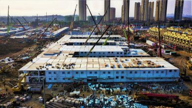 Photo of Cina, ospedale costruito in 10 giorni a Wuhan (Video)