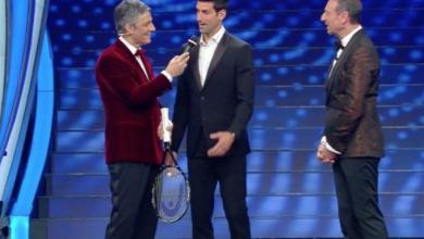Photo of Novak Djokovic ospite d'onore a Sanremo 2020 (FOTO)