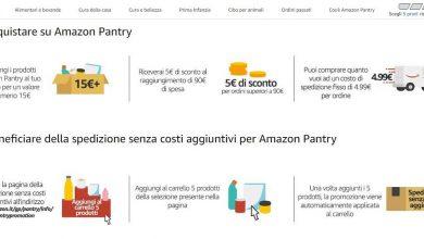 Photo of Cos'è Amazon Pantry? Offerte e come funziona il servizio per la spesa online