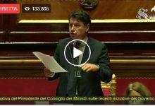 Photo of Discorso di Giuseppe Conte al Senato del 21 aprile 2020 (Video)