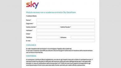 Photo of Come dare disdetta a Sky prima della scadenza? Modulo in PDF, Costo e PEC