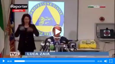 """Photo of Video – Luca Zaia: """"Noi vogliamo lavorare, magari non è consuetudine ovunque"""""""