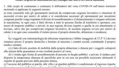 Photo of La bozza del Decreto 27 aprile per la Fase 2 dal 4 maggio in pdf