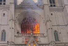 Photo of Incendio nella cattedrale di Nantes – VIDEO
