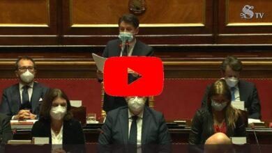 Photo of Discorso di Giuseppe Conte al Senato del 19 gennaio 2021(Video)