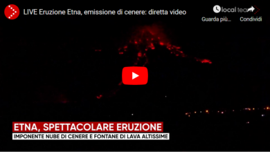 Photo of Video – L'Eruzione dell'Etna