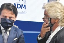 """Photo of Giuseppe Conte contro Grillo: """"Decida se essere padre padrone"""""""