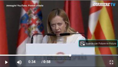Photo of Giorgia Meloni in Spagna: Video e Parodia dell'intervento